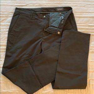 Bonobos chino pant, barely worn. Greenish brown.